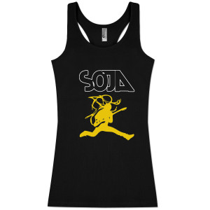 SOJA - Bobby Lee Jumpman Ladies' Black Tank
