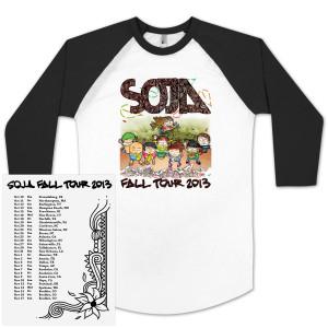 SOJA Fall Tour 2013 Baseball Tee