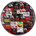 SOJA - Collage Drum Head (Large) - Signed