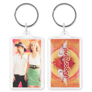 Sugarland Inside Photo Keychain