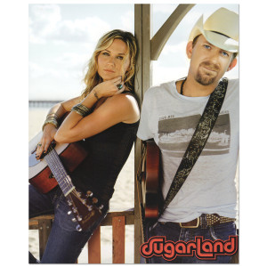 Sugarland Guitar Duo 8 x 10 Photo