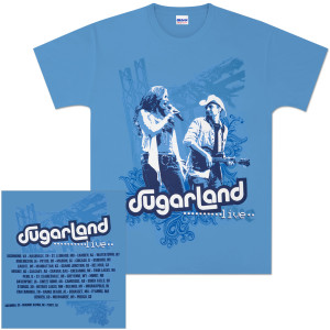 Sugarland Live Tour T-Shirt