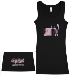 Sugarland Want To Ladies Tank Top