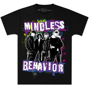 Mindless Behavior Spray Stencil T-Shirt