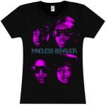 Mindless Behavior Faces Girlie T-Shirt