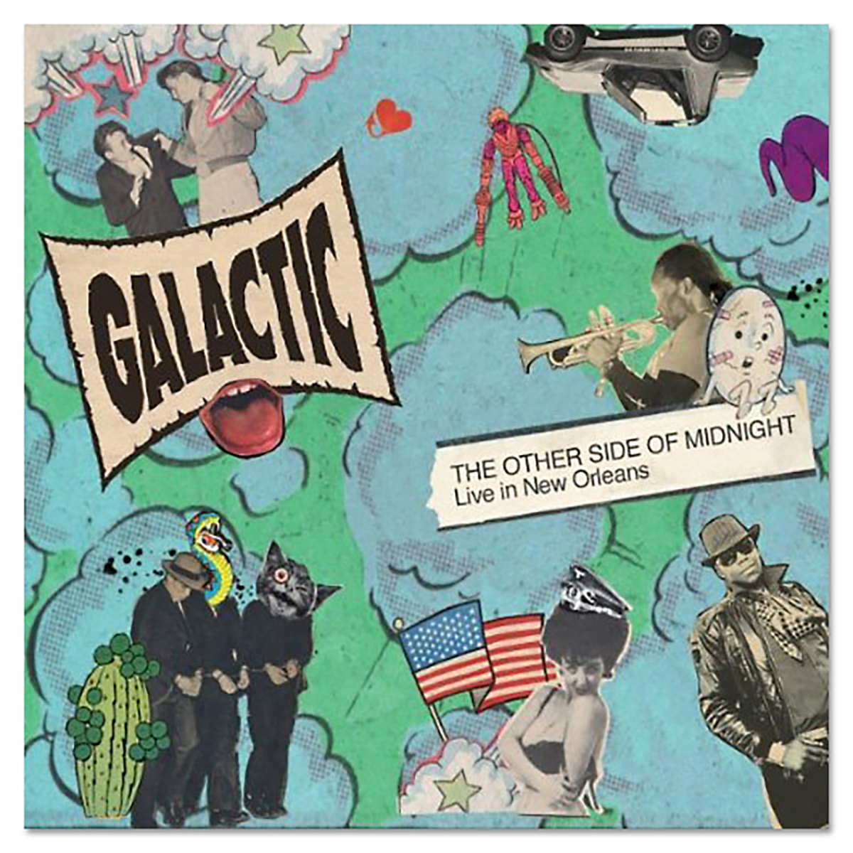Galactic - Other Side of Midnight : Live in New Orleans CD