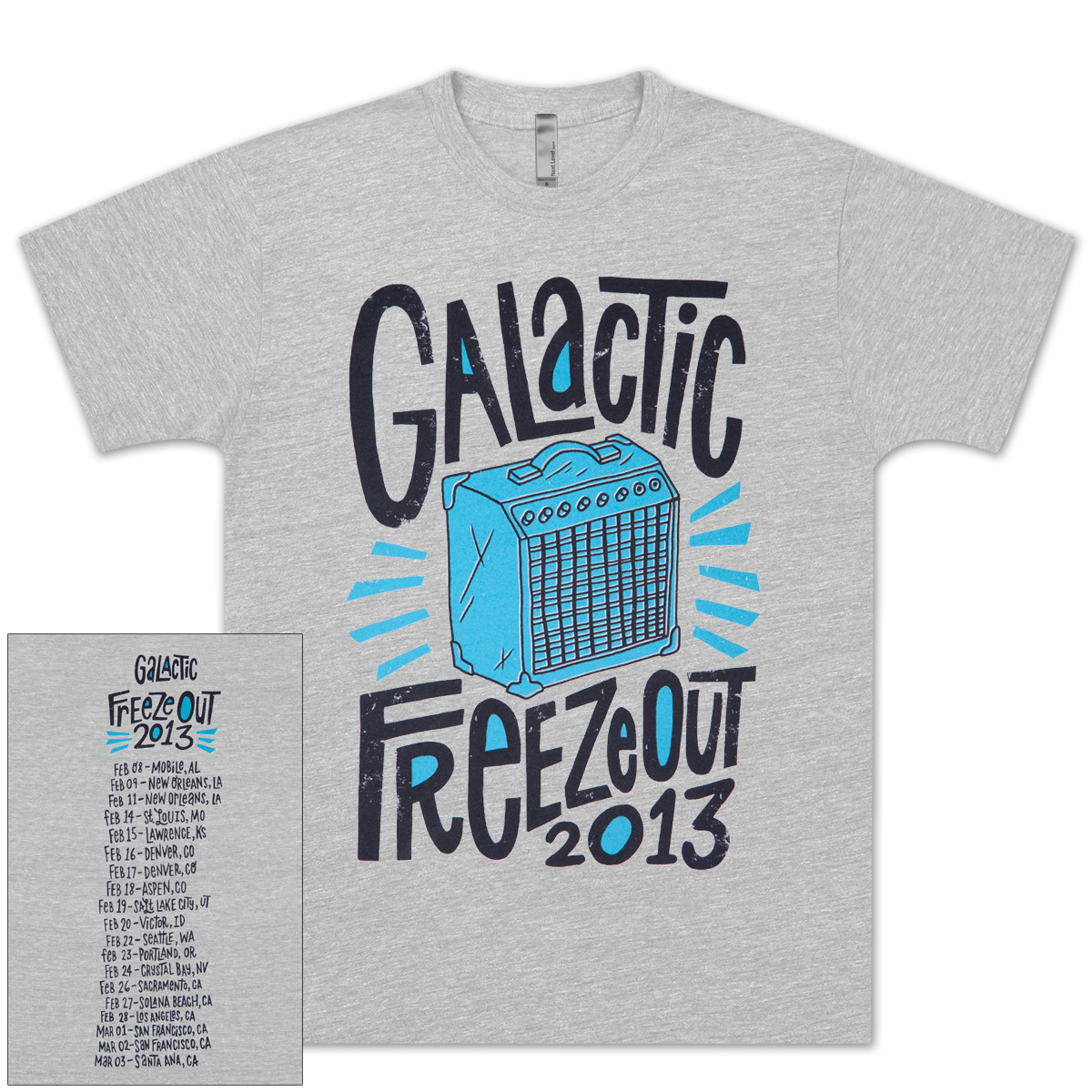 Freeze Out 2013 Unisex Tour T-Shirt