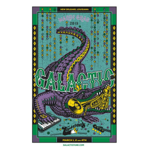 Mardi Gras 2019 Poster - Signed