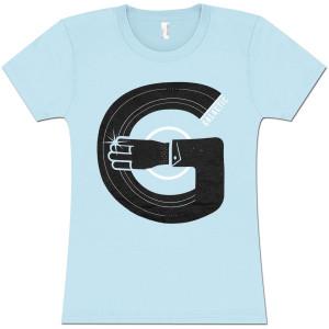 Record Arm Ladies T-Shirt