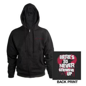 Here's To Never Growing Up Hoody