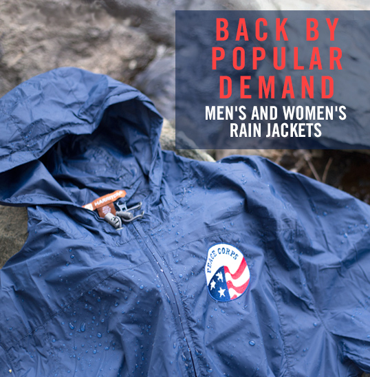 Rain Jackets Are Back!