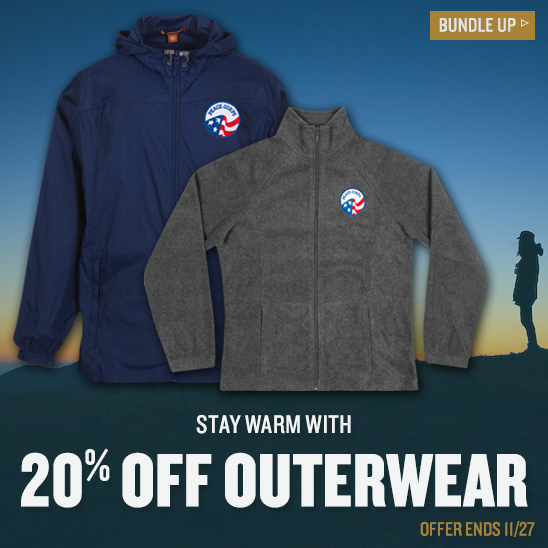 Outerwear Sale - 20% Off