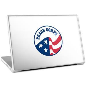 "Peace Corps 15"" Laptop Skin"