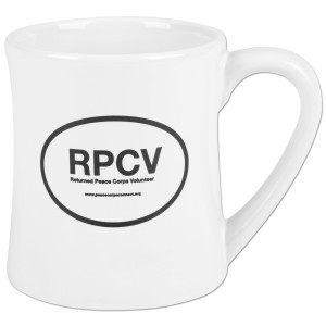 Peace Corps RPCV Oval 15oz Diner Mug