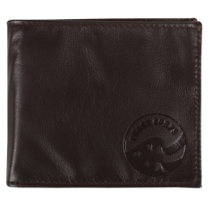 Peace Corps - Men's Chocolate Brown Bifold Wallet