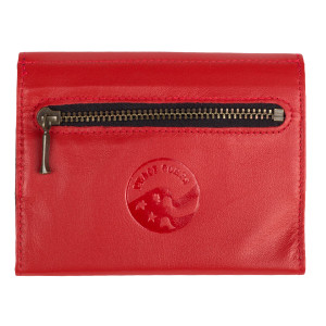 Peace Corps - Women's Red Debossed Wallet