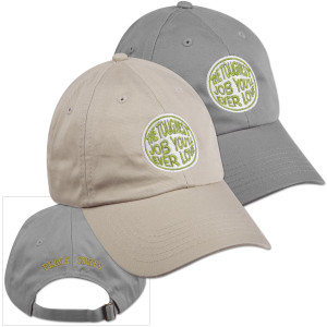 Peace Corps Toughest Job Organic Cap