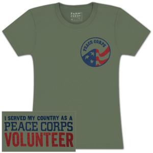 "Peace Corps ""Volunteer"" T-shirt"