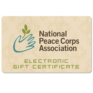 National Peace Corps Electronic Gift Certificate