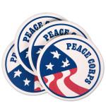 Peace Corps Set of 4 Coasters