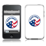Peace Corps iPod Touch 2nd / 3rd Generation Skin