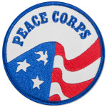 "Peace Corps 3 ½"" Embroidered Patch"