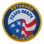 Returned Peace Corps Volunteer Patch