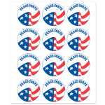 Peace Corps Sticker Sheet