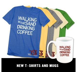 New T-Shirts & Mugs!