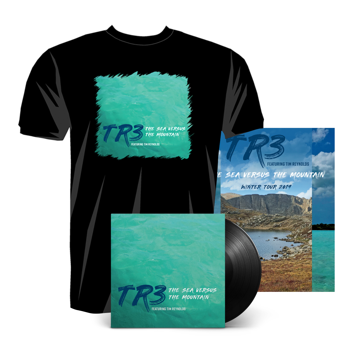 The Sea Versus the Mountain LP Bundle