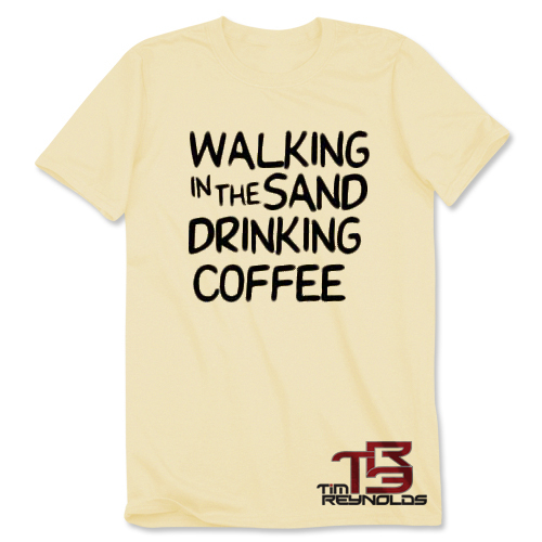 TR3 Walking in the Sand T-Shirt - Sand