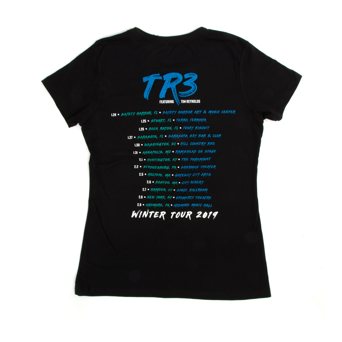 The Sea Versus the Mountain CD Release Women's Tour T-shirt