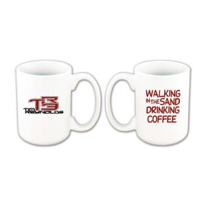 Tim Reynolds 'Walking in the Sand' Coffee Mug