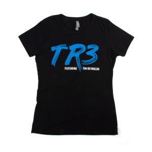 Women's TR3 Blue Tour Shirt