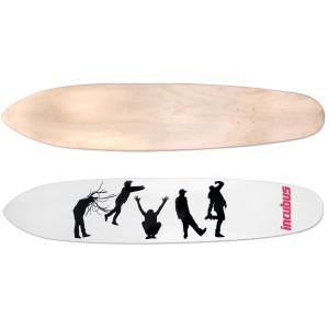 Incubus Silhouette Longboard Deck