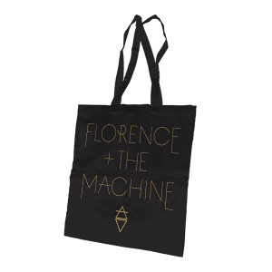 Florence and The Machine Copper Logo Tote Bag