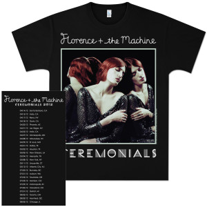 Florence and The Machine Ceremonials Tour T-Shirt