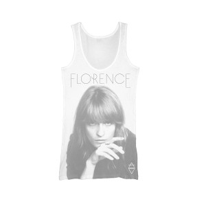 Florence and The Machine Album Cover Faded Girls Tank