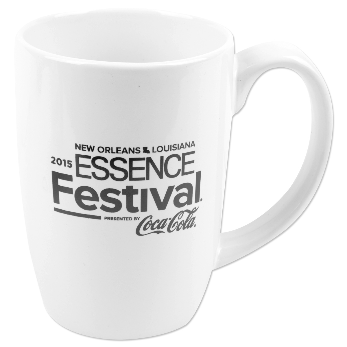 2015 Essence Festival White Alumni Coffee Mug