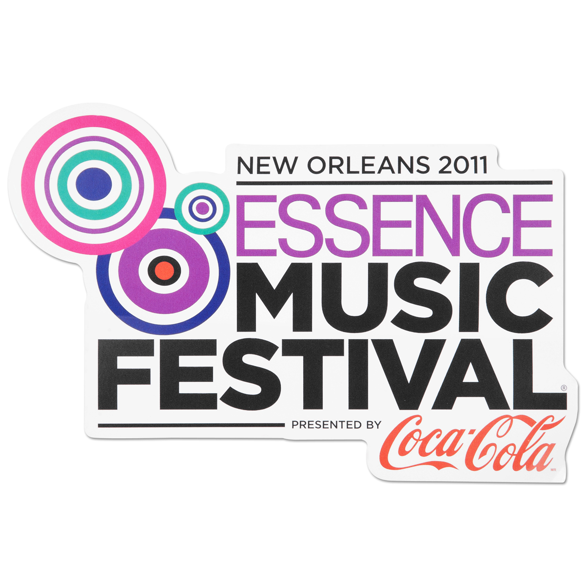 Essence Music Festival Logo Sticker