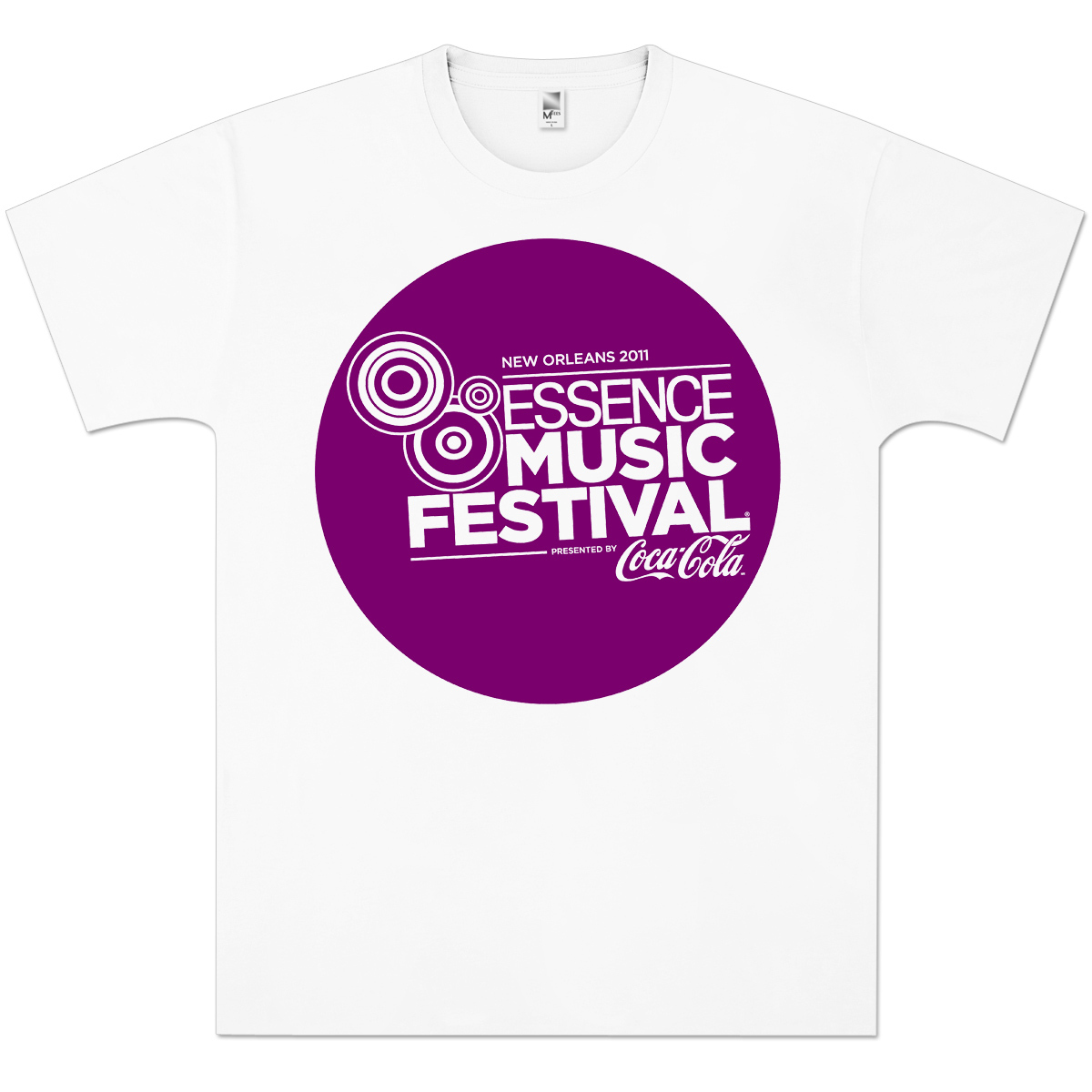 Essence Music Festival Men's Purple Bubble Logo Tee