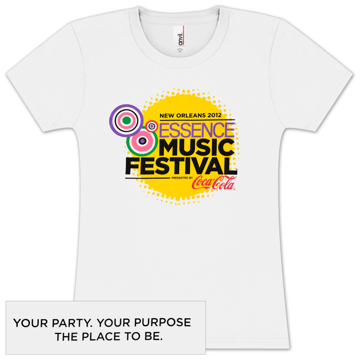 2012 Essence Music Festival Womens T-shirt