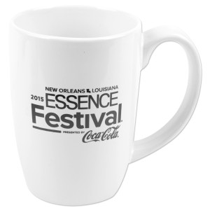 2015 Essence Festival White Alumni Coffee Mug