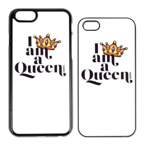 I Am A Queen iPhone Case