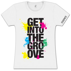 "Women's ""Get Into The Groove"" Tee"