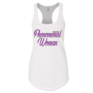 Women's Phenomenal Woman Tank Top