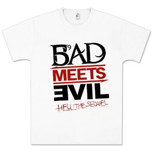 Bad Meets Evil Sketch Logo T-Shirt