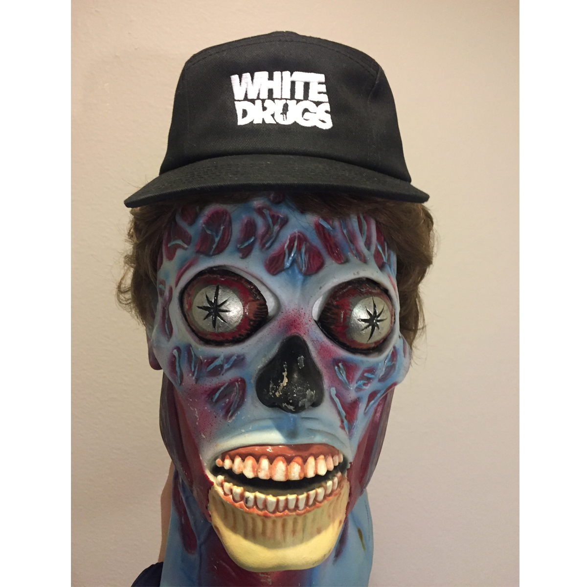 White Drugs Hat