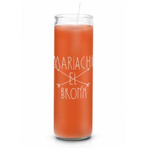 Mariachi El Bronx Candle