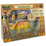 Dino Dan Triceratops Dinosaur Action Figure Set